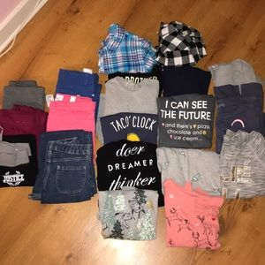 Other - Large lot girls 10-12 fall/winter clothes